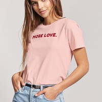 More Love Graphic Tee