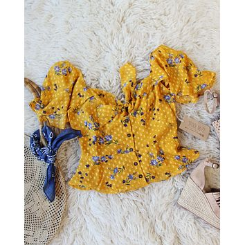 Marigold Valley Top