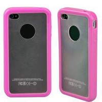 Pink Bumper Hard Case Skin Cover for Apple iPhone 4 4G 4s