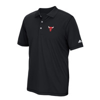Chicago Bulls adidas Puremotion Solid Jersey Polo – Black