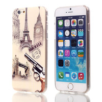 Made in USA Eiffel Tower TPU Case For Apple iPhone 6 6S