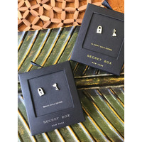 Secret Box: You Have My Key, 14K Stud Earrings