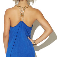 Back Chain High-Low Tank | Shop Just Arrived at Wet Seal