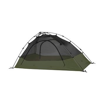 """TETON Sports Quick Tent; Pop-Up Tent; Instant Setup – Less Than 1 Min; Camping and Backpacking Tent; Easy Clip-On Rainfly Included Vista 2 Person Tent/ Green/ 82"""" X 60"""" X 41"""""""