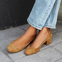 jeffrey campebll + free people Womens Cyndi Block Heel