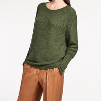 Cashmere knit shirt, green - ORBITA Max Mara
