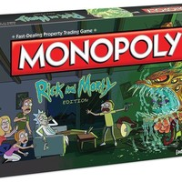 Monopoly Rick & Morty Board Game 0180 4809