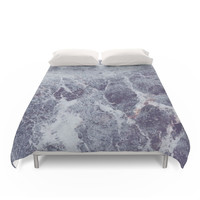 Society6 Ombre Marble Duvet Cover