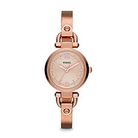 Rose Gold Watches, Women's Rose Tone Watch | FOSSIL