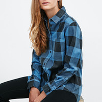 Cheap Monday - Chemise écossaise Chess bleue - Urban Outfitters
