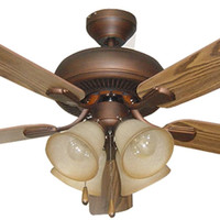 0-004882>Piedmont 4-Light Ceiling Fan Aged Bronze