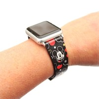 Apple Watch Disney Character Leather Bands