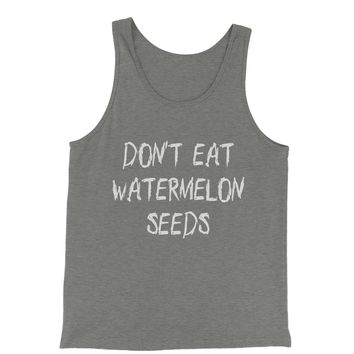 Don't Eat Watermelon Seeds Jersey Tank Top for Men