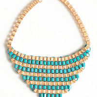 Statement Made Necklace - $22.00: ThreadSence, Women's Indie & Bohemian Clothing, Dresses, & Accessories