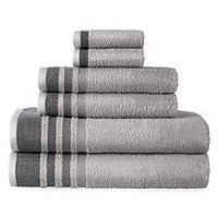 Home Expressions Solid or Stripe Bath Towel Collection - JCPenney