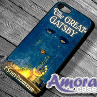 The Great gatsby - iPhone 4/4s/5 Case - Samsung Galaxy S3/S4 Case - Blackberry Z10 - Black or White