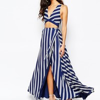 The Jetset Diaries Palace Maxi Dress in Stripe at asos.com