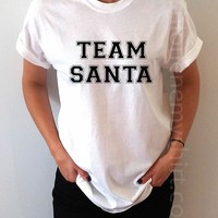 Team Santa - Unisex T-shirt for Women - shpfy