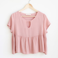 Emma Babydoll Top - More Colors