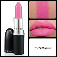 MAC Lipstick Pink Nouveau Stain Long Lasting New in Box Fast Shipping