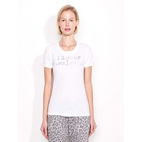 L'Amour Toujours Tee White
