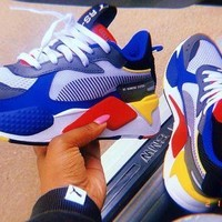 Puma Rs-X Toys color matching men's and women's retro old shoes
