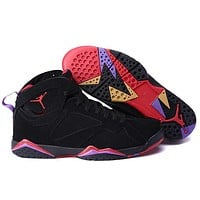 Big Size To Special You! Nike Air Jordan 7 Retro Aj7 Black/red Size Us 141516 | Best Deal Online