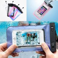 Transparent Waterproof Pouch for Phones and Electronics