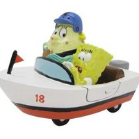 Mrs. Puff/Spongebob In Rowboat Ornament