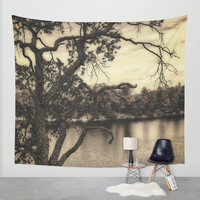 Be Still Wall Tapestry by DuckyB (Brandi)