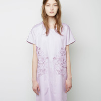 Floral Cut-Out Oxford Dress by Carven
