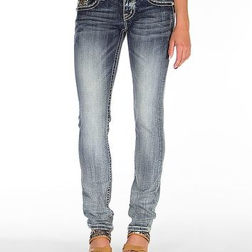 Miss Me Embellished Straight Stretch Jean