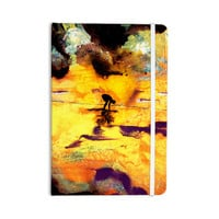 """Josh Serafin """"Pool of Life"""" Yellow Abstract Everything Notebook"""