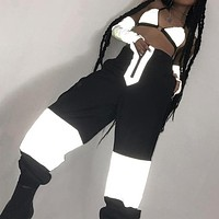 3M Reflective High Waisted Pants