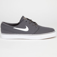Nike Sb Zoom Stefan Janoski Mens Shoes Dark Grey/White/Gum Light Brown  In Sizes