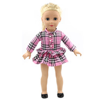 "Handmade 18 inch American Girl Doll Clothes 14 Style Multi Color Skirt Suit Fits 18"" American Girl Doll D-7"