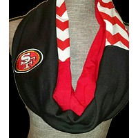 49ers Scarf