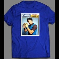 "NAPOLEON DYNAMITE'S RICO DYNAMITE ""UNCLE RICO"" FOOTBALL CARD SHIRT"
