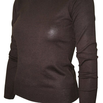 Long Sleeve Crew Neck Pullover Cardigan