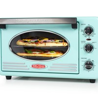 Nostalgic Retro Vintage Old Fashion CounterTop Large Convection 12 Slice Toaster Oven