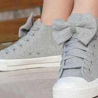 00-Bow Canvas Shoes-77 from thankyoutoo