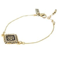 Diamond Lace Gold Bracelet