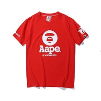 Cheap Women's and men's aape t shirt for sale 501965868-057