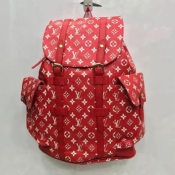 Louis Vuitton LV hot-selling classic large-capacity outdoor backpack fashion men and women handbags large school bags
