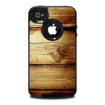 The Old Bolted Wooden Planks Skin for the iPhone 4-4s OtterBox Commuter Case