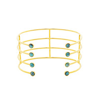 Turquoise Olympia Cuff