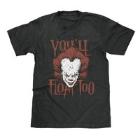 It Pennywise You'll Float Too Shirt Available in Adult & Youth Sizes