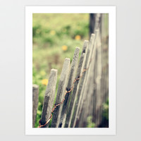 Withstanding Art Print by Trish Mistric