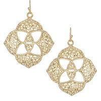 Dawn Medallion Earrings in Gold - Kendra Scott Jewelry