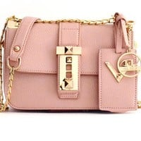 Crossbody Leather Flap Bag